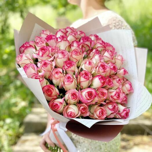 "51 роза ""Джулия"" - 50см"