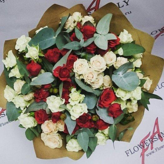 Букет Амели: букеты цветов на заказ Flowwow