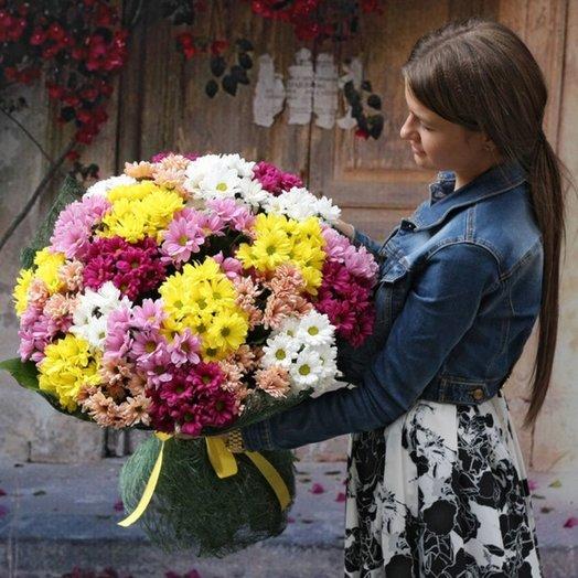 Букет Хриза: букеты цветов на заказ Flowwow