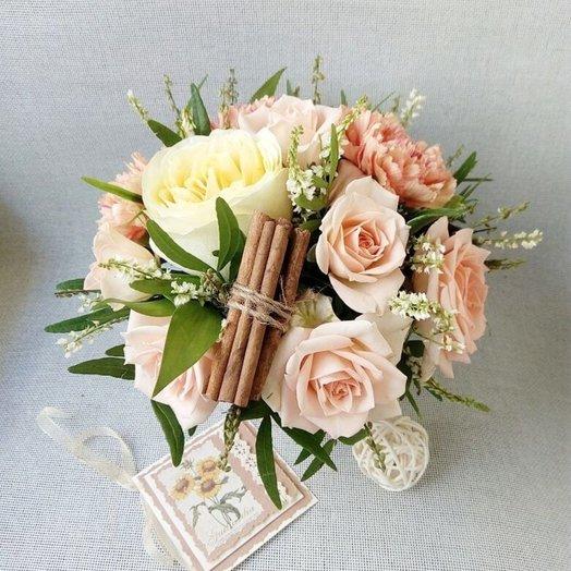 Комплимент с корицей: букеты цветов на заказ Flowwow