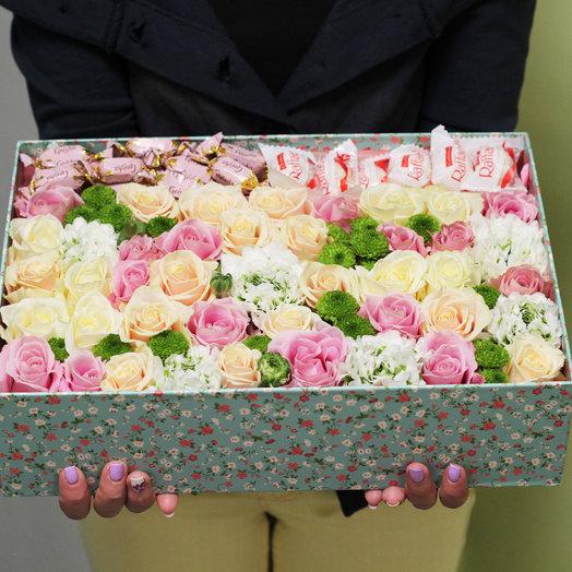 Сладкая жизнь XL: букеты цветов на заказ Flowwow