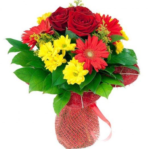 Букетик Рэд: букеты цветов на заказ Flowwow