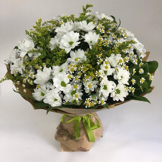 Ромашковое настроение: букеты цветов на заказ Flowwow