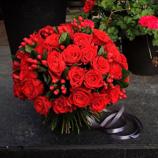 Страсть 100%: букеты цветов на заказ Flowwow
