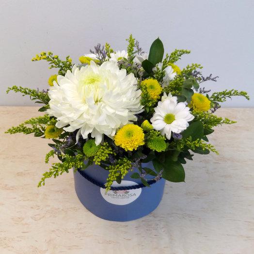 Шляпная коробка 11: букеты цветов на заказ Flowwow