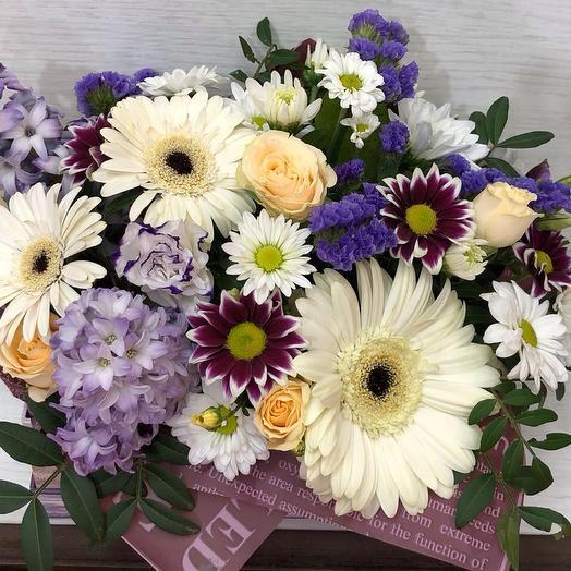 Коробочка фантазия : букеты цветов на заказ Flowwow