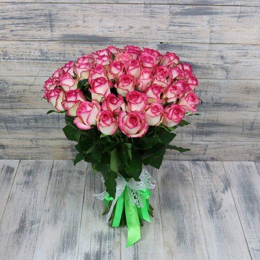 Розовый закат: букеты цветов на заказ Flowwow