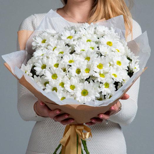 Букет 11 «Полевые ромашки»: букеты цветов на заказ Flowwow