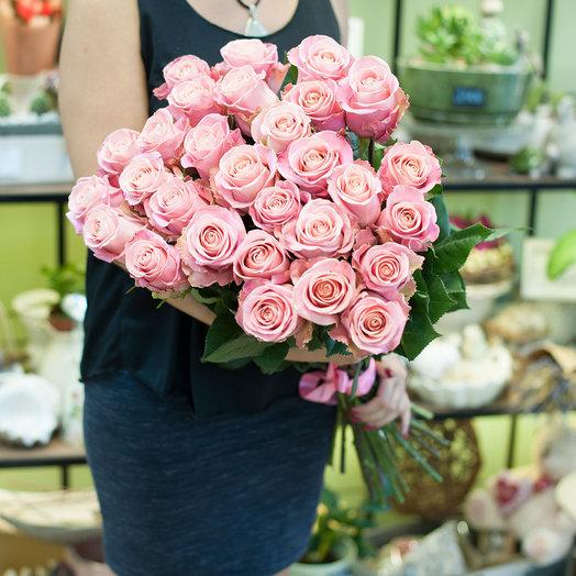 Букет из роз (29 роз): букеты цветов на заказ Flowwow