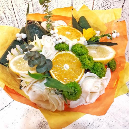 Фруктовый: букеты цветов на заказ Flowwow