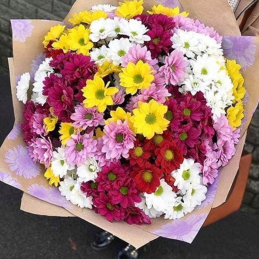 Жизнерадостный микс: букеты цветов на заказ Flowwow