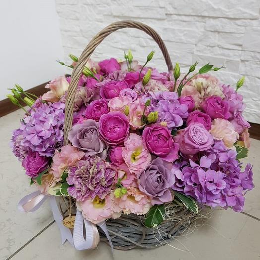 "Корзина ""Мечта"": букеты цветов на заказ Flowwow"