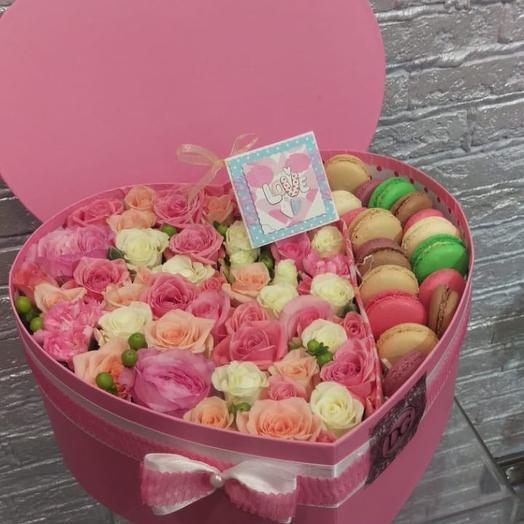 Безграничная любовь: букеты цветов на заказ Flowwow