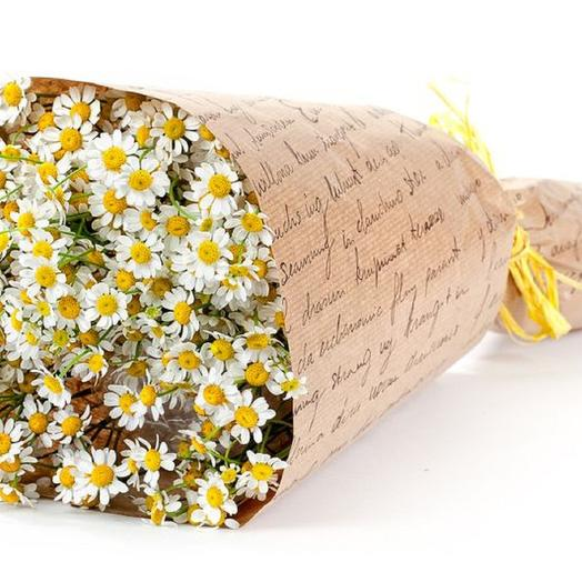 Романтичная ромашка: букеты цветов на заказ Flowwow