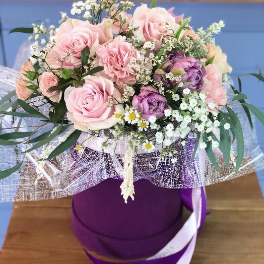 Коробка 12: букеты цветов на заказ Flowwow