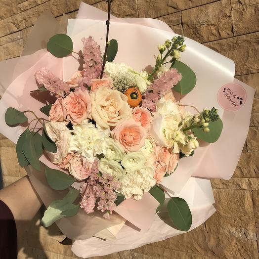 Персиковый сорбет: букеты цветов на заказ Flowwow