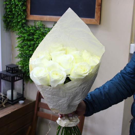 15 роз 50см. Premium: букеты цветов на заказ Flowwow