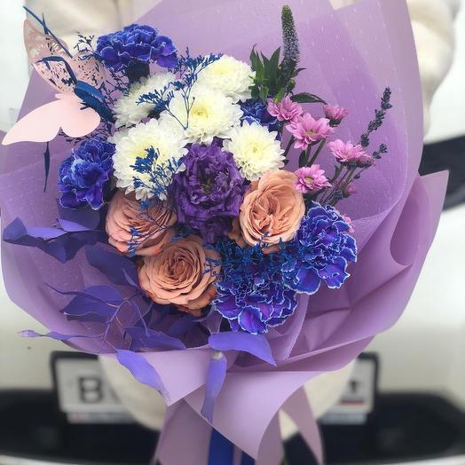 Синева-нева: букеты цветов на заказ Flowwow