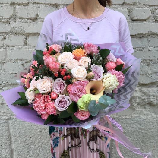 """Букет """"Ангела"""": букеты цветов на заказ Flowwow"""