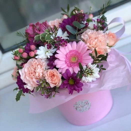 Ведерка ассорти: букеты цветов на заказ Flowwow