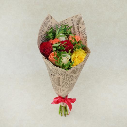 Осенняя роза: букеты цветов на заказ Flowwow