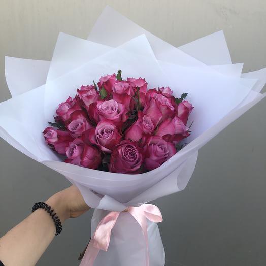 Маленькое чудо💜: букеты цветов на заказ Flowwow