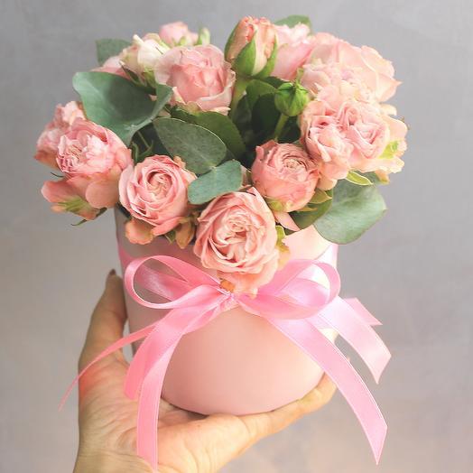 """Нежный комплимент с розой """"Симпатия"""""""