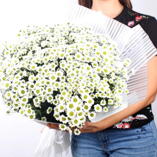 Букет из сантини белой: букеты цветов на заказ Flowwow