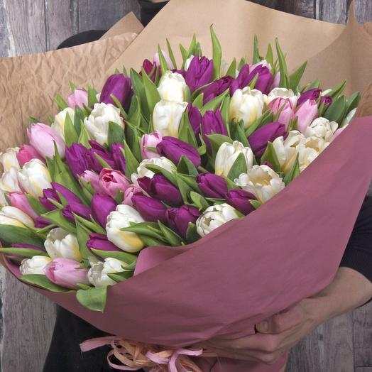 Весна близко: букеты цветов на заказ Flowwow