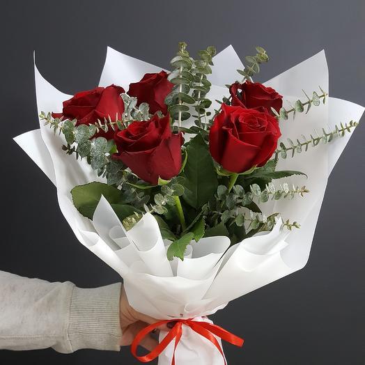 Букет для тебя: букеты цветов на заказ Flowwow