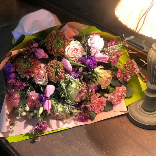 """Красивый букет из жывых цветов """"Бажана"""""""