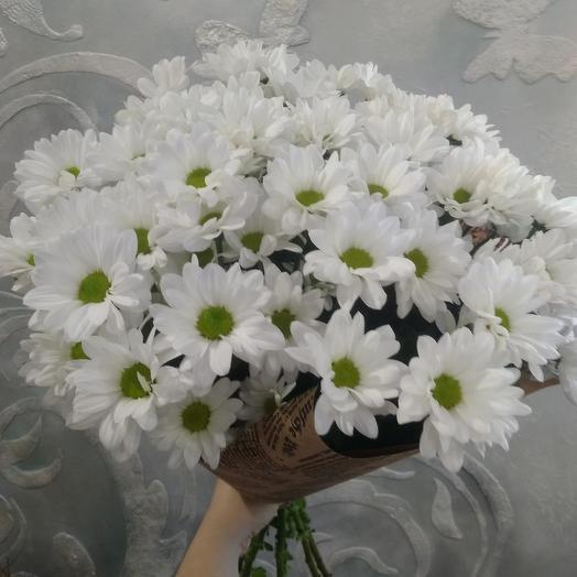 Букет «9 хризантем»