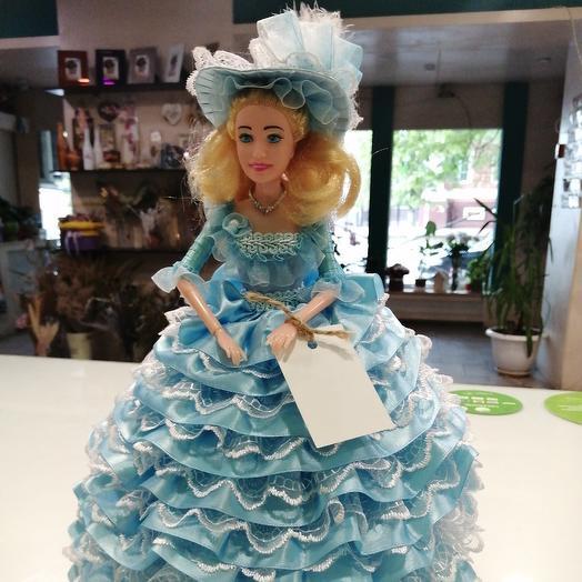 Кукла барби шкатулка: букеты цветов на заказ Flowwow