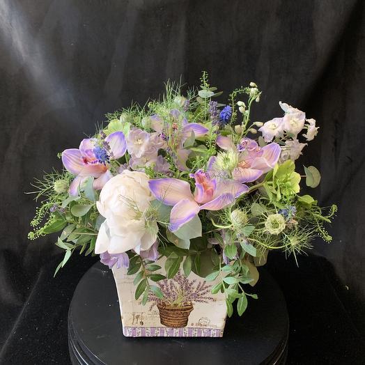 Композиция 9: букеты цветов на заказ Flowwow