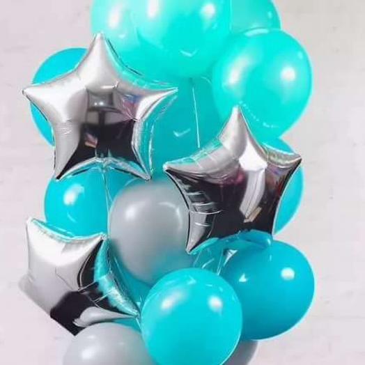 Фонтанчик цвета ,,Тиффани: букеты цветов на заказ Flowwow