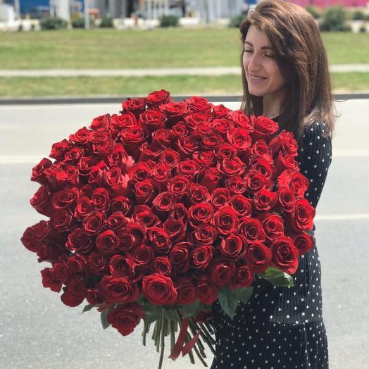 Букет из 101 розы Эквадор