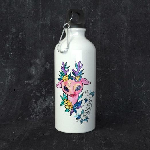 Бутылка для воды One Love, Олененок