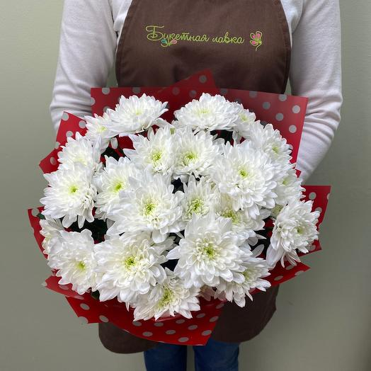 Bouquet of 5 chrysanthemums
