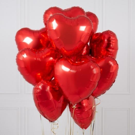 Фонтан сердец на 14 февраля