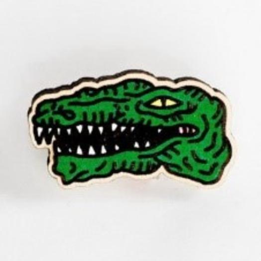 """Значки  Waf-Waf """"Крокодил"""""""