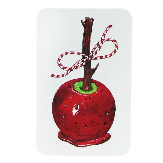 Бирка подарочная «Яблоко в карамели»