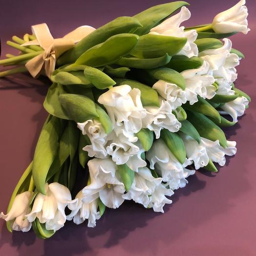 Букет премиум тюльпанов
