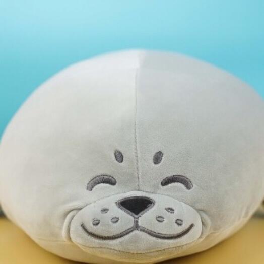 Мягкая игрушка для обниманий «Нерпа» 60см