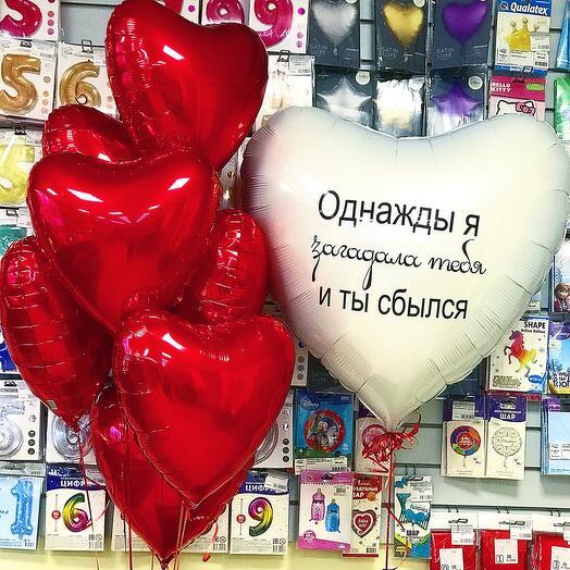 Фонтан шаров « С любовью»