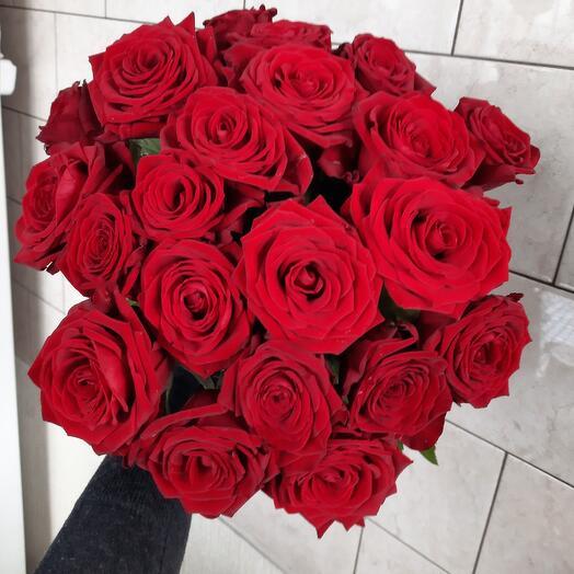 Красные розы Рел Наоми 21