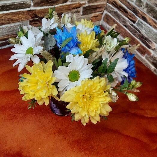 Цветы в коробке 2