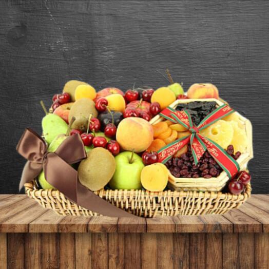 Продуктовый подарочный набор из фруктов ЭКО