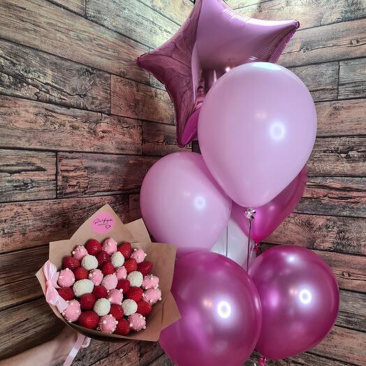 """Комбо набор """"Розовое счастье"""""""