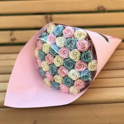 Шоколадные розы-1