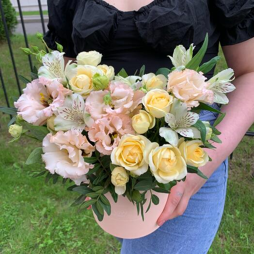 Цветы в коробке💛💛💛